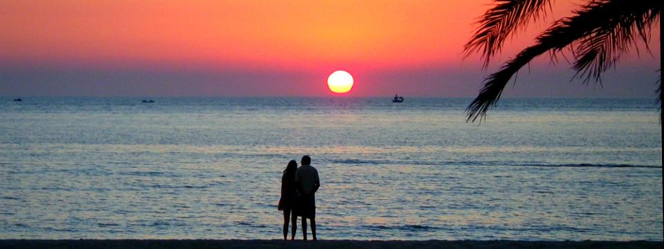 Limnos vakantie Agios Ioannis zonsondergang header.jpg