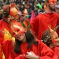 Kostuums carnaval in Rethymnon op Kreta
