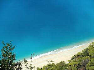 Egremni beach Lefkas bij beste Griekse stranden