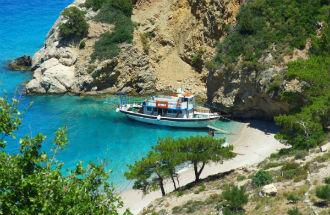 Paella beach Warpaths vakantie Griekenland