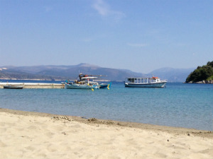 Strand Tolo Peloponnesos in Griekenland