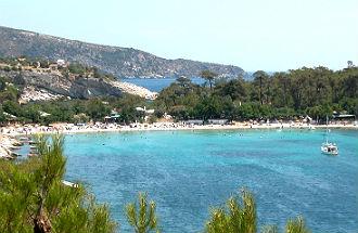Alike beach op Thassos