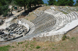 Thassos stad amfi theater