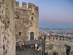 Thessaloniki stedentrip het kasteel