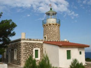 Agios Nikolaos vuurtoren kaap Skinari
