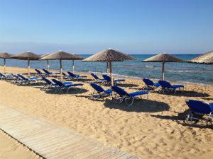 Banana beach op Zakinthos bij mooiste stranden Zakynthos