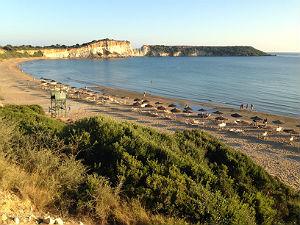 Greeks beach  bij mooiste stranden Zakynthos