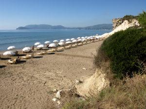 Kalamaki beach bij mooiste stranden Zakynthos