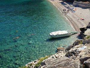 Makris Gialos beach bij mooiste stranden Zakynthos