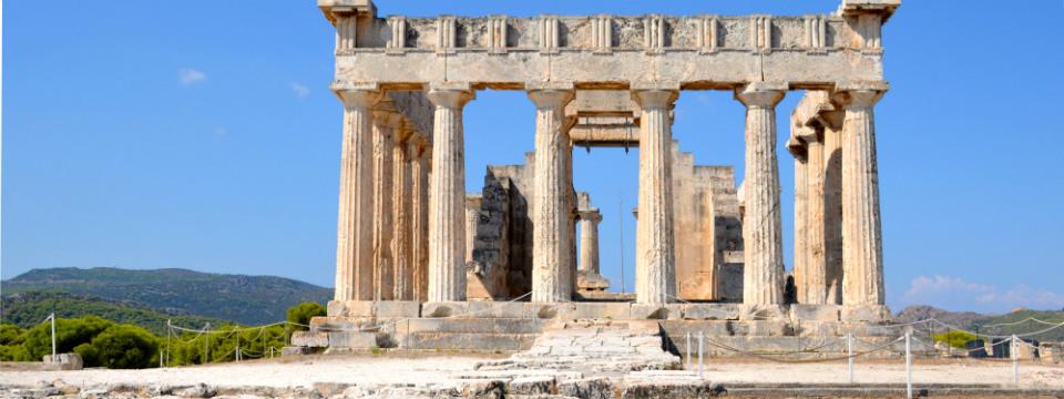 Aegina vakantie Aphaia tempel header.jpg