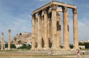 Athene bij beste bestemmingen ter wereld