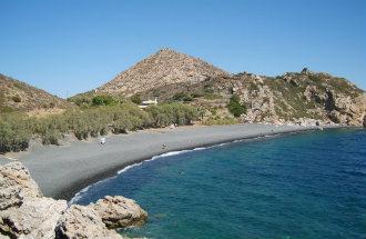 Mavra Volia beach op Chios