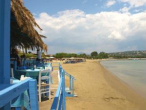 Methane beach Peloponnesos