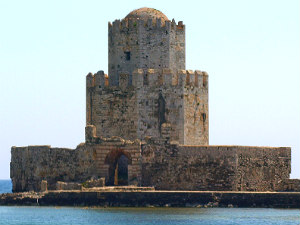 Venetiaanse fort in Methoni