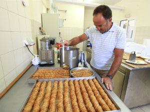 Delicatessen van Limnos Baklava