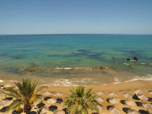 Georgioupolis strand op Kreta