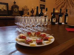 Grampsas wijnhuis wijnproeverij