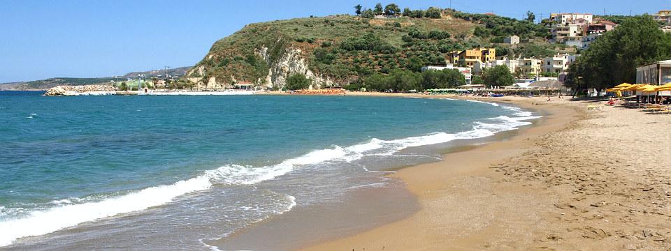 Kalyves Kreta strand