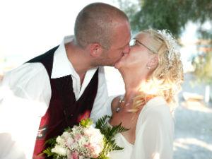 Trouwen op Santorini bruiloft