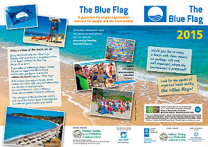 395 Blue Flag beaches Griekenland 2015