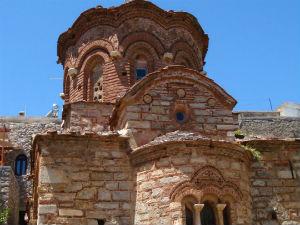 De magie van Chios kerk