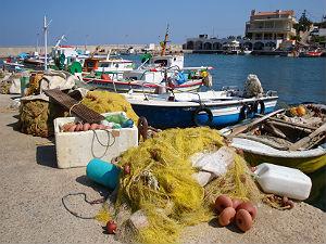 Magie van Chios vissersboten