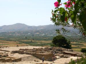 Paleis van Festos (Phaistos) op Kreta