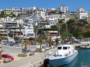 Agia Galini op Kreta