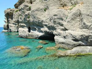 Agia Galini op Kreta kustlijn