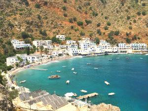 Loutro op Kreta in Griekenland