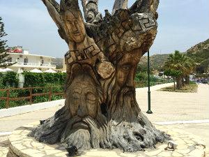 Matala Kreta boom