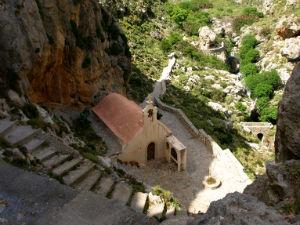 Preveli Kreta het Nicolas the Kourtaliotis of Asomatis kerkje