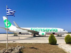 Win een reis naar Athene vliegtuig Transavia