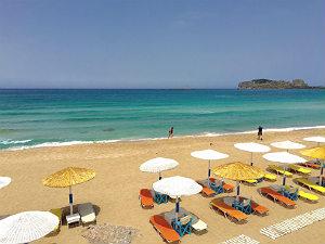 Falasarna Kreta bij 5 mooiste stranden Chania