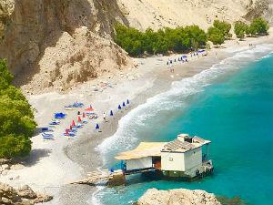 Mooiste stranden van Chania Glyka Nera