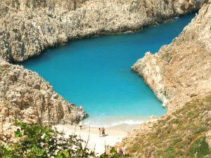 Mooiste stranden van Chania Seitan Limania