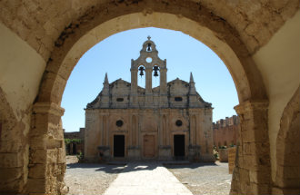 Arkadi klooster Rethimnon op Kreta