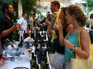 Cretan Diet Festival Rethymnon wijnproeven