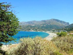 Plakias beach op Kreta