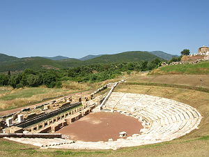 Ancient Messini amfi theater