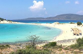 Simos beach Elafonisos Peloponnesos