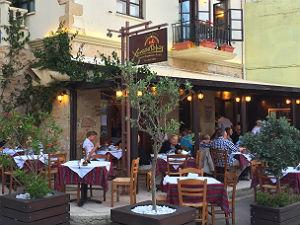 5 restaurant tips Chania Chrystostomos taverna
