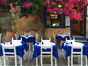 Restaurant tips Chania The well of the Turk