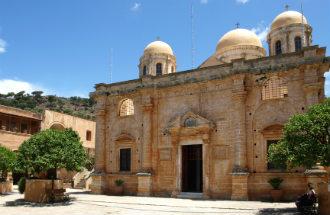 Agia Triada klooster op Kreta