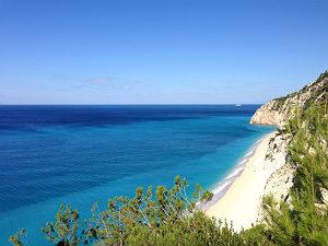 Blue Flag beaches in Griekenland Egremni Lefkas