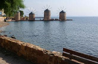 Weersverwachting Chios Griekenland