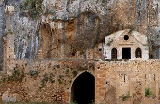 Katholiko klooster Kreta bij Chania