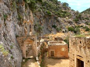Katholiko klooster op Kreta bij Chania