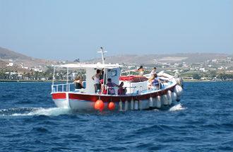 Weersverwachting Paros Griekenland