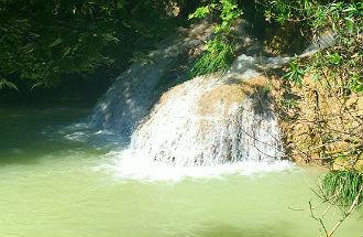Polilimnio watervallen Peloponnesos